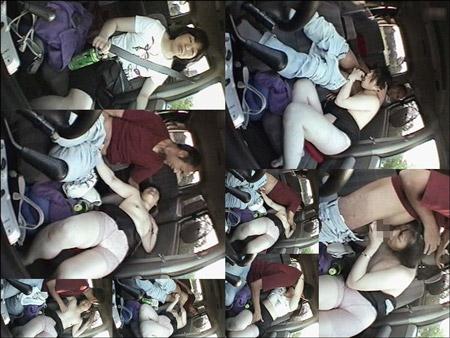 素人四十路おばさんを車内でハメ撮りした投稿映像